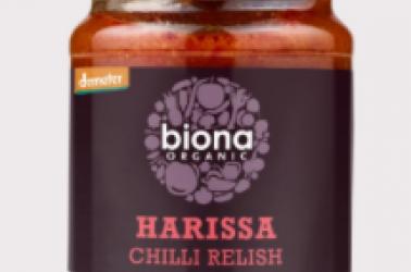 Picture of Biona Harrissa Relish Organic 125g