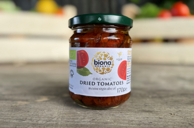 Picture of Biona Sun-dried Tomatoes in Extra Virgin Olive Oil 170g Organic