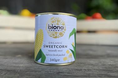 Picture of Biona - Tinned Sweetcorn 325g Organic