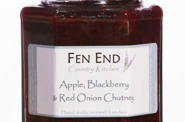 Picture of Fen End Apple Blackberry and Red Onion Chutney (not organic) 270g