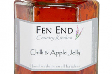 Picture of Fen End Chilli and Apple Jelly (not organic) 220g