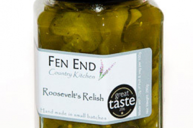 Picture of Fen End Roosevelt's Relish (not organic) 280g
