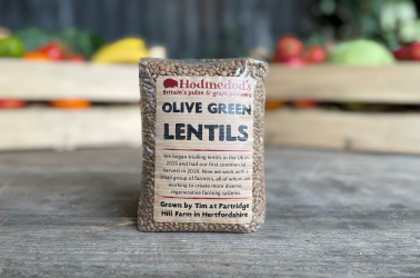 Picture of Hodmedods - Olive Green Lentils (non organic)