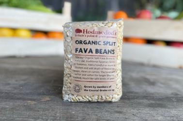 Picture of Hodmedods - Split Fava Beans 500g Organic