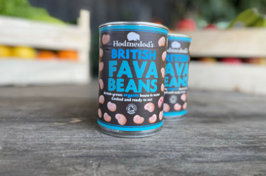 Picture of Hodmedods - Tinned Whole Fava Beans 400g Organic