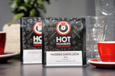 Picture of Hot Numbers Coffee (WHOLE BEANS) 250g (not organic)