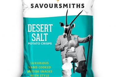 Picture of Savoursmiths crisps Desert Salt (not organic) 40g