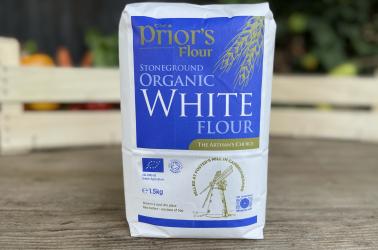Picture of The Prior's Flour Cambridge White bread flour 1.5kg